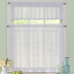 Arm & Hammer Curtain Fresh Odor-Neutralizing Rod-Pocket Window Tiers & Valance Set