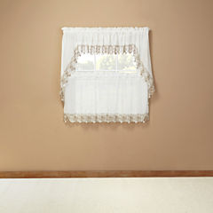 Renaissance Home Fashion Lillian Rod-Pocket Curtain Panel