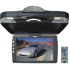Pyle PLRD143IF 13.3IN Ceiling-Mount LCD Monitor with DVD Player & IR Transmitter