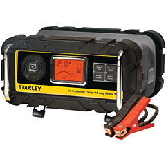 Stanley Tools BC15BS Battery Charger/Maintainer with Engine Start (15-Amp Charger; 40-Amp Starter)