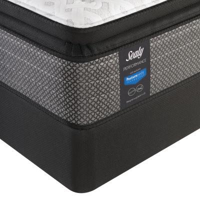 sealy performance davlin plush pillowtop mattress box spring
