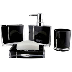 Crystal 4-pc. Bath Accessory Set