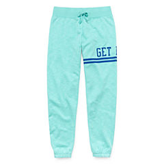 Xersion Cotton Fleece Jogger Pants - Girls' 7-16 and Plus