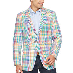 U.S. Polo Assn. Classic Fit Woven Checked Sport Coat