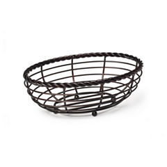 Gourmet Basics by Mikasa® Wire Oval Bread Basket
