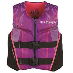 Full Throttle Youth Hinged Rapid-Dry Flex-Back Life Vest
