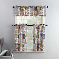 Mackintosh Antoinette 3-pc. Rod-Pocket Kitchen Curtain Set
