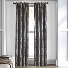 Studio™ Brooklyn Rod-Pocket/Back-Tab Room-Darkening Curtain Panel