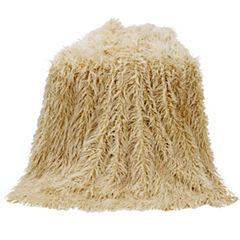 HiEnd Accent Mongolian Faux Fur Throw