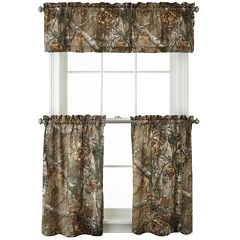 Realtree® Xtra® Camo Rod-Pocket Kitchen Curtains