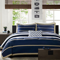 Mi Zone Garrett Striped Comforter Set