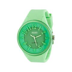 Crayo Womens  Burst Mint Strap Watch Cracr3203