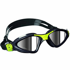 Us Driver Kayennegrygoggle Mirrored Lens Swim Goggles