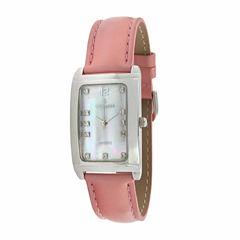 Peugeot Womens Pink Strap Watch-330pk
