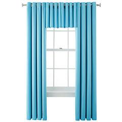 Liz Claiborne® Kathryn Brights Grommet-Top Window Treatments