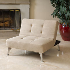 Ashton Oversized Convertible Ottoman Chair
