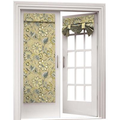 brighton blossom rodpocket door panel - Door Panel Curtains