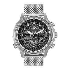 Citizen® Eco-Drive® Navihawk A-T Mens Chronograph Watch JY8030-83E