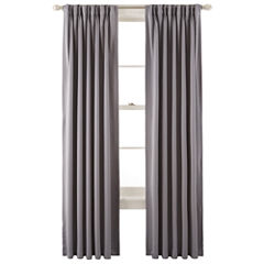 Liz ClaiborneR Kathryn Room Darkening Pinch Pleat Back Tab Curtain Panel