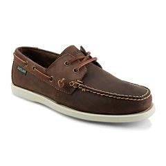 Eastland® Freeport Mens Leather Boat Shoes