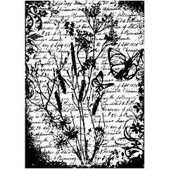 Tim Holtz® Cling Rubber Stamp, Flutter