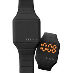 Dakota Fusion Kids Mini Hidden LED Watch, black 52473