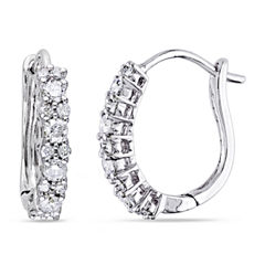 1/2 CT. T.W. White Diamond 14K Ear Cuffs