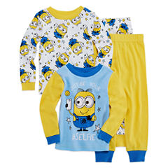 Minion 4 PC Pajama Set - Toddler Boys