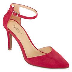 Liz Claiborne Harriett Leather Womens Dress Shoe
