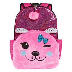 Pink Dog Backpack