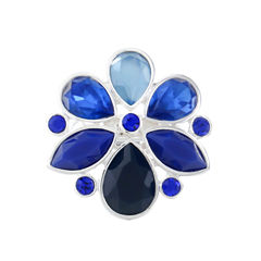 Liz Claiborne Womens Blue Stretch Ring