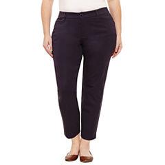St. John's Bay® Ankle Pants - Plus (27