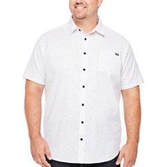 Zoo York Short Sleeve Button-Front Shirt-Big and Tall