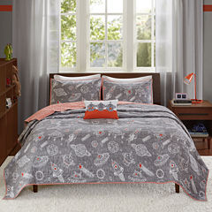 INK+IVY Orbit Coverlet Set