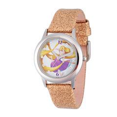 Disney Princess Girls Glitz Tangled Strap Watch W002964