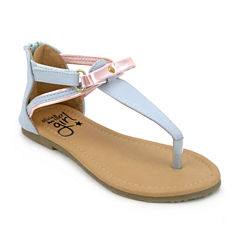 Olivia Miller Layla Girls Strap Sandals - Little Kids/Big Kids