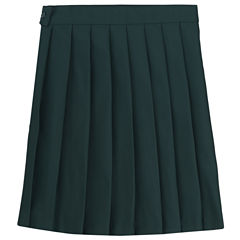 French Toast Woven Pleated Skirt - Preschool Girls