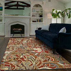 Feizy Rugs® Paisley Rectangular Rug