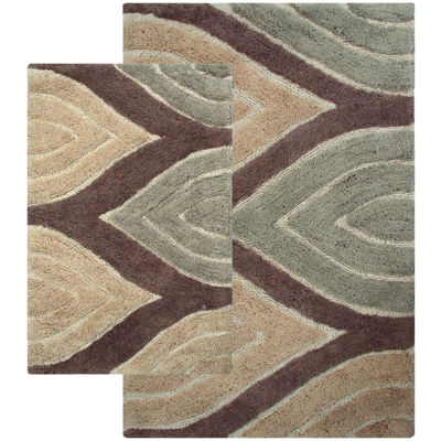 Chesapeake Merchandising Davenport 2 Pc. Bath Rug Set
