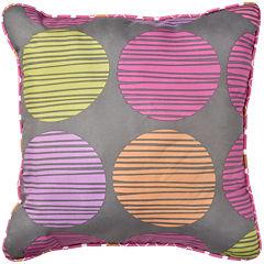 Gwen Square Reversible Decorative Pillow