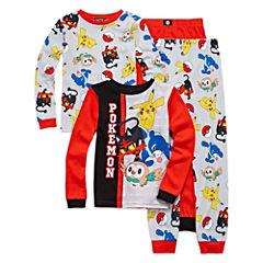 Pokemon 4-pc. Pajama Set - Boys