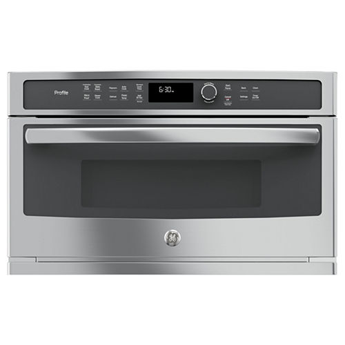 GE Profile™ Series 1.7 cu. ft. Built-In Microwave Convection Oven