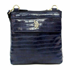 Us Polo Assn. Charles Double Entry Crossbody Bag