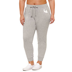 Flirtitude LA Jogger Pant- Juniors Plus