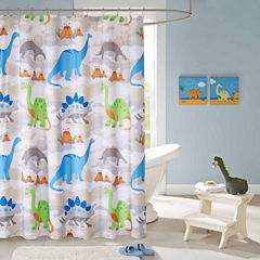 Sharp Tooth Shower Curtain
