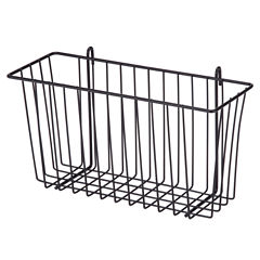 Honey-Can-Do Black Wire Accessory Basket