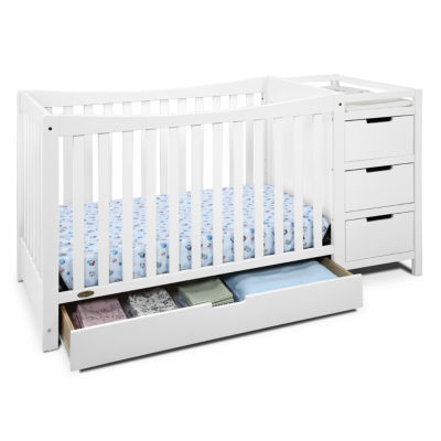 Delightful Graco® Remi 4 In 1 Convertible Crib And Changer