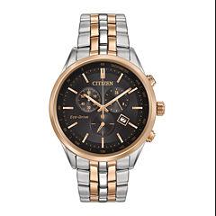 Citizen® Eco-Drive® Mens Chronograph Watch AT2146-59E