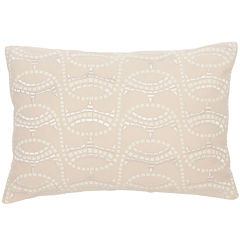 BiniChic Terracotta Mosaic Oblong Decorative Pillow