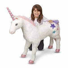 Melissa & Doug® Unicorn - Plush